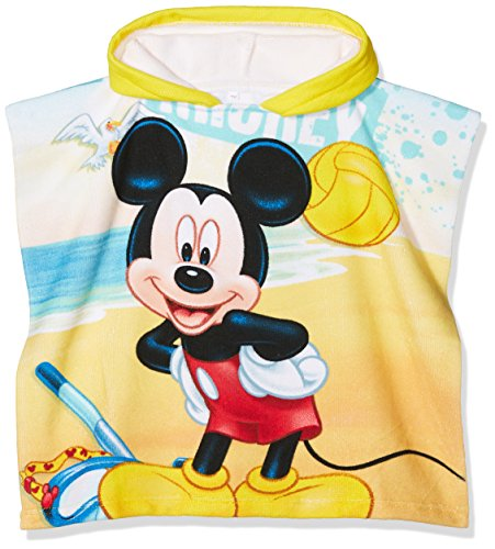 Disney mickey poncho – giallo