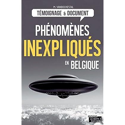 Les phénomènes inexpliqués en Belgique: Les grands dossiers du Cerpi
