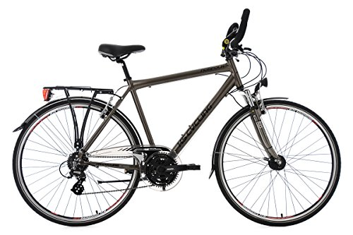 KS Cycling Trekkingrad Herren 28\'\' Norfolk Bronze Multipositionslenker RH 53 cm Fahrrad, 28