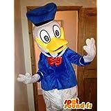 Mascota SpotSound Amazon personalizable Pato Donald, pato famoso Disney. Disfraz de pato