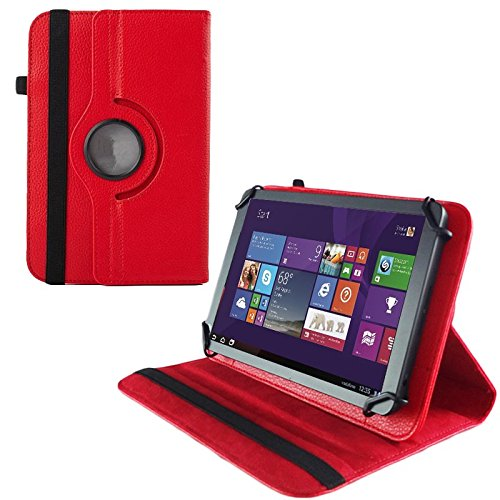 Schutz Tasche f Blaupunkt Endeavour 101G Hülle Schutzhülle Tablet Case Etui Rot