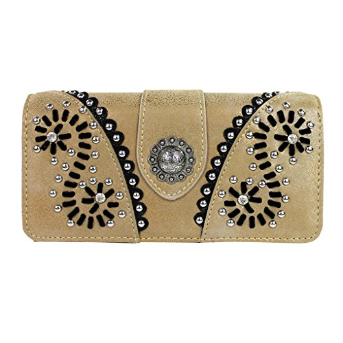 western-concho-collection-wallet
