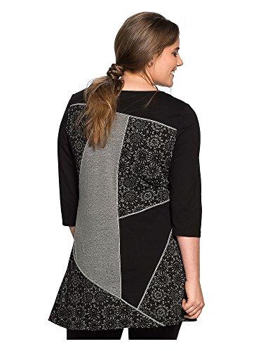 Joe Browns Damen Longshirt große Größen 100% Baumwolle Schwarz