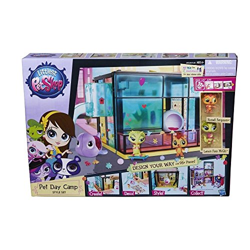 Hasbro A9478ES0 - Littlest Pet Shop Tierchencamp Style - Pet Littlest Shop-pet-sets