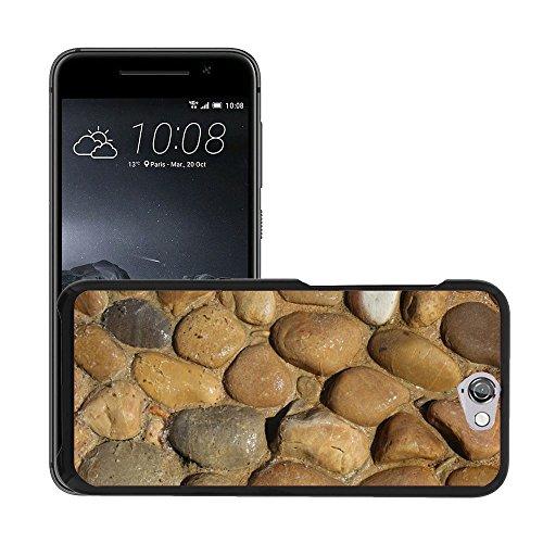Case Carcasa Case Funda Case La // M00158991 Pietra, Roccia, ghiaia sfondo naturale // HTC One A9 (Not Fit M9) - Pietra Naturale Della Roccia