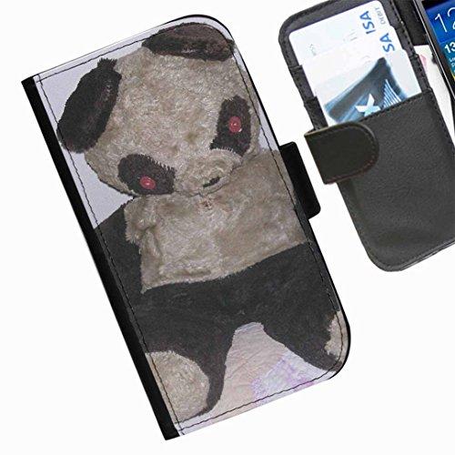 Hairyworm- Teddybären Seiten Leder-Schützhülle für das Handy HTC Desire Eye Htc Panda