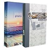 Lot de 2 albums photos New York à pochettes pour 300 photos 10x15
