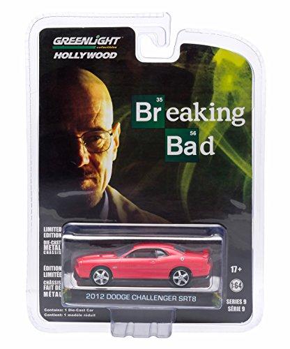 2012-dodge-challenger-srt-8-breaking-bad-164-greenlight-44690-hollywood-series-9-modellauto