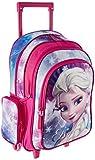 Paxos 54993 Sac à dos à roulettes - Disney - La reine des Neiges