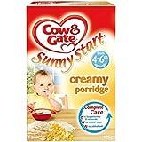 Cow & Gate Ensoleillé Démarrer crémeux Porridge 4mois + (125g) -