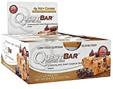 Quest Nutrition QuestBar Protein Bar Chocolate Chip Cookie Dough - 12 Bars