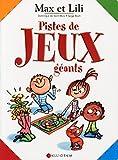 Pistes de jeux géants Max et Lili...