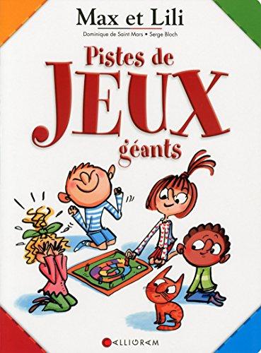 Pistes de jeux géants Max et Lili