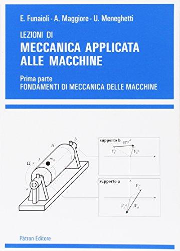 Lezioni di meccanica applicata alle macchine: 1