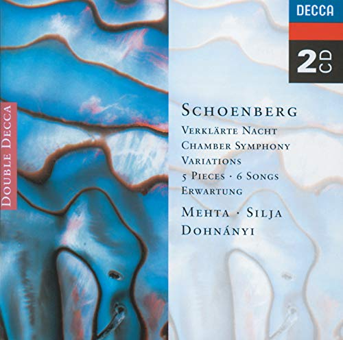 Schoenberg: 5 Pieces for Orchestra/Chamber Symphony etc. (Schoenberg Mehta Chamber)