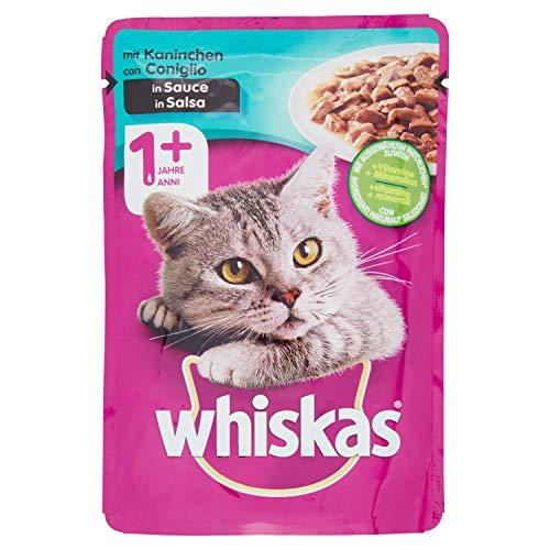 Whiskas con Coniglio in Salsa, 100g