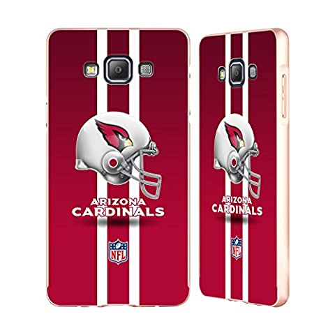 Officiel NFL Casque Arizona Cardinals Logo Or Étui Coque Aluminium Bumper Slider pour Samsung Galaxy A7