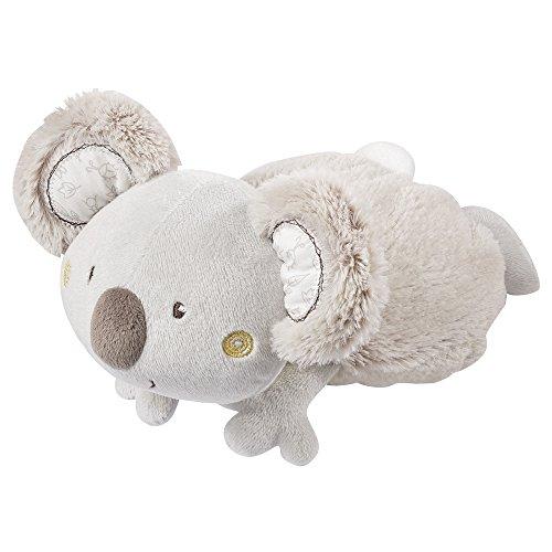 Fehn 064230 Wärmetier Koala - Traubenkernsäckchen in niedlicher Koala-Optik für Babys und Kleinkinder ab 0+ Monaten - Maße: 22 cm