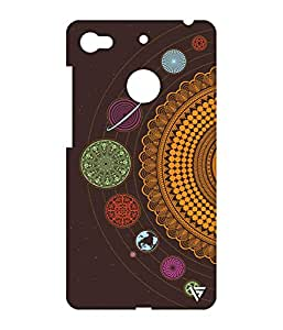 Vogueshell Ethnic Pattern Printed Symmetry PRO Series Hard Back Case for LeEco Le 1s Eco