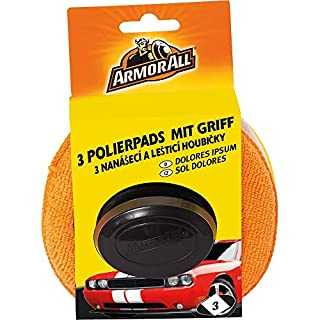 Armor 31515L 3 Polishing Pads with Handle