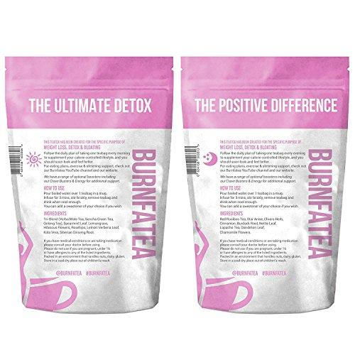 Burnfatea 28 Day Teatox Set (NO LAXATIVE EFFECT, Weight Loss Tea, Detox Tea, Slimming, Diet Tea)