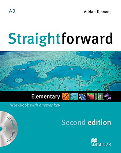STRAIGHTFWD Elem Wb Pk +Key 2nd Ed (Straightforward)