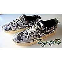 Zapatillas customizadas personalizados lona Batman, regalos para cumpleaños - celebraciones - regalos hombre - regalos mujer - San Valentin