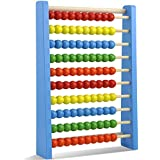 chinkyboo Large Wooden Bead Traditional Abacus Math Educational Kids Toy Fun