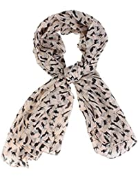 Sanwood Women's Colorful Sweet Cat Chiffon Scarf