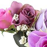 Yazidan Frauen handgefertigte Blumen Haarband Krone Hochzeit Kranz Braut Kopfschmuck Haarband Blumen Stirnband Haarkranz Blumenkrone Garland Braut Blume Girlande Stirnband\n