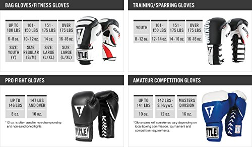 TITLE PLATINUM POWER PRO FIGHT GLOVES Black/Silver/Green 12 oz