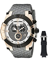 MULCO Men's MW5-3068-213 Prix Snap Analog Display Swiss Quartz Grey Watch