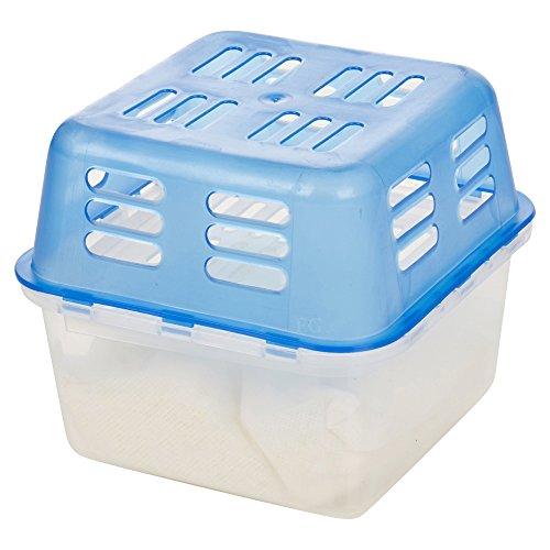 Innen wiederverwendbar tragbar Luftentfeuchter feuchten Feuchtigkeit Absorber?Für Haus, Auto Caravan & mehr - 350g Container - Set of 2