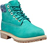Timberland 6 In Premium WP Boot TEAL BLUE (Niños/Kids), Size: 34 EU (2 US / 1.5 UK)