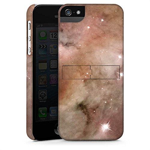 Apple iPhone X Silikon Hülle Case Schutzhülle Galaxy Space Die Staubsäule des Carina-Nebels Premium Case StandUp