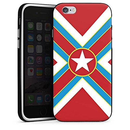 Apple iPhone 5s Housse Étui Protection Coque Étoile Univers Croix Housse en silicone noir / blanc