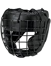 Fuji Mae - Casque self-défense cuir grille amovible métal - 21633