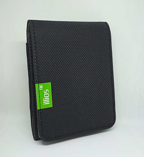 illios™ External Hard Disk Wallet/Holder/Carrying Case/Bag/Case/Enclosure/Cover/Pouch for HP K6A93AA 1TB External Portable USB 3.0 Hard Drive  available at amazon for Rs.240