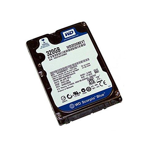 Western Digital 'Festplatte 320GB SATA 2,5 Scorpio Blue WD3200BEVT Laptop (Digital Western 320 Laptop)