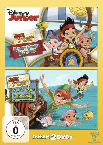 Jake und die Nimmerland Piraten - Bucky's grosse Wettfahrt / Peter Pans Rückkehr [2 ()