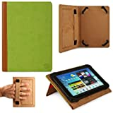 VG Mary Leather Portfolio Kickstand Case for Amazon Kindle eReader (Green)