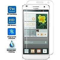 Protector de Pantalla para Huawei Ascend G7 Cristal Vidrio Templado Premium, Electrónica Rey®