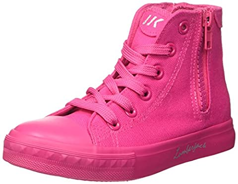 Lumberjack Mädchen Phillie Hohe Sneaker, Rosa (Fuxia), 33 EU