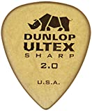 Jim Dunlop Ultex Sharp Picks 6-Pack2.0mm