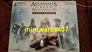 Assassin's Creed: Brotherhood - Limited Codex Edition (with PS3 Exclusive Content) (B004FF535I) | Amazon price tracker / tracking, Amazon price history charts, Amazon price watches, Amazon price drop alerts