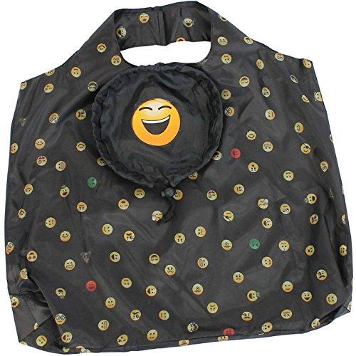 happy rain Faltshopper, Borsa tote donna nero grin 47 x 48 cm laughing