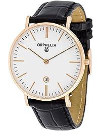Orphelia Herren-Armbanduhr Analog Quarz Leder 61508