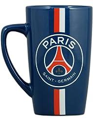 PSG Américain Mug Boîte Individuelle Céramique Multicolore bleu 14,5 x 15 x 9 cm
