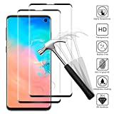 Snnisttek [2 Pieces Tempered Glass Screen Protector For Samsung Galaxy S10-Samsung Galaxy S10 Tempered Glass, 9H Hardness, Ultra Crystal Clear, 99% Transparency Protection