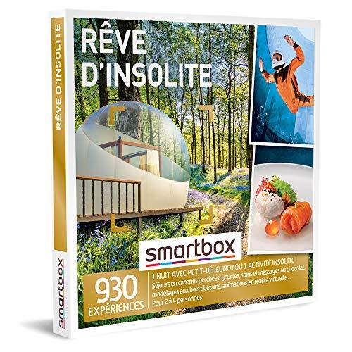 SMARTBOX - Coffret Cadeau homme femme - Rêve d'insolite - idée cadeau - 930...